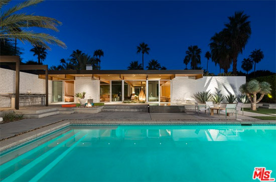 On the market: 1950s Donald Wexler-designed midcentury modern property in Palm Springs, California, USA