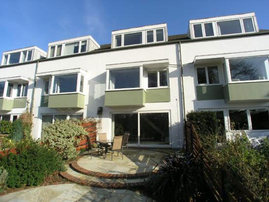On the market: 1960s three-bedroom Span House in Lakeside, Weybridge, Surrey
