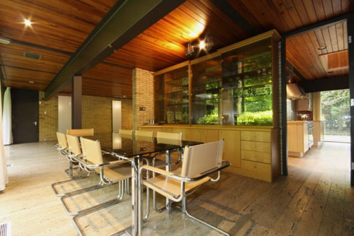 Frazer Crane-designed 1970s four-bedroomed modernist house in Whitefield, Greater Manchester