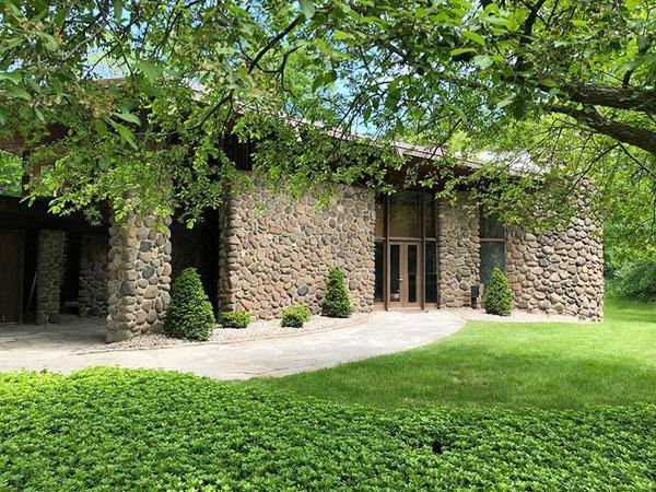 1960s William Wenzler midcentury modern property in Elm Grove, Wisconsin, USA