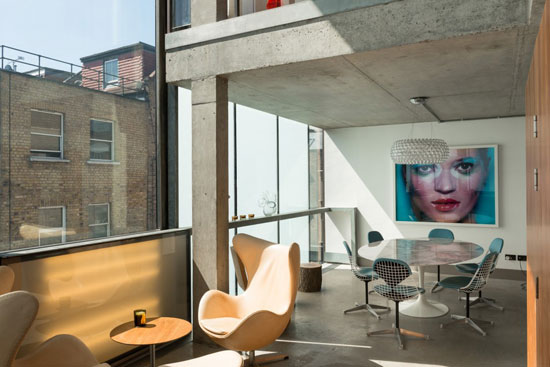 William Russell-designed contemporary modernist property in London E2