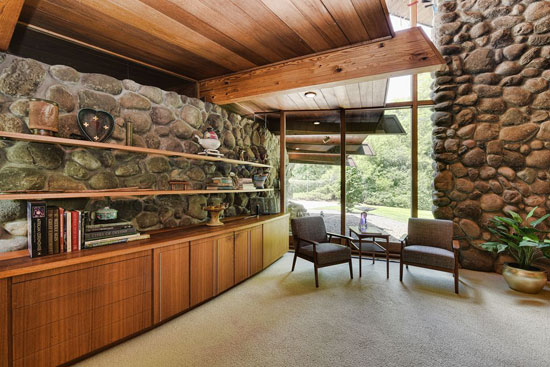 1960s William Wenzler midcentury modern property in Elm Grove, Wisconsin, USA