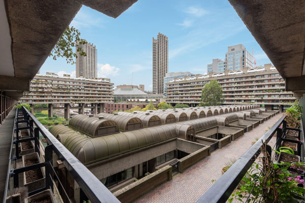 Willoughby House apartment on the Barbican Estate, London EC2