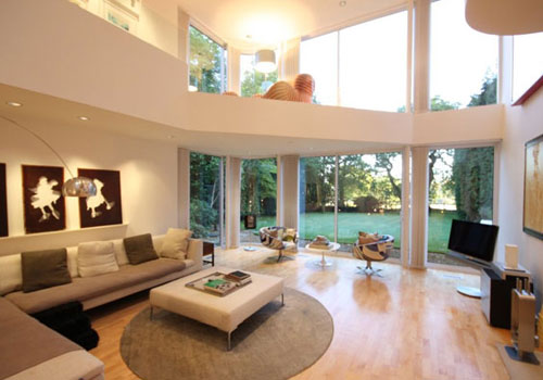 1970s Frazer Crane-designed modernist house in Wilmslow, Cheshire