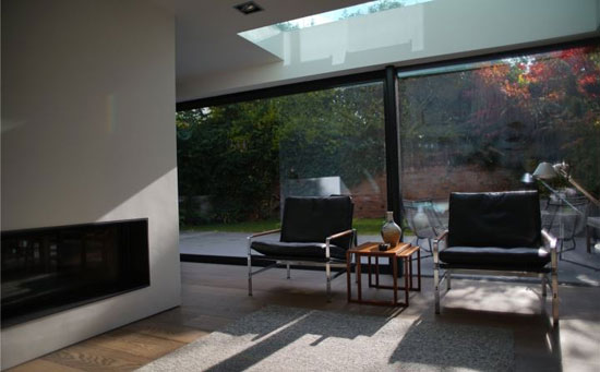 1970s Frazer Crane modernist property in Wilmslow, Cheshire