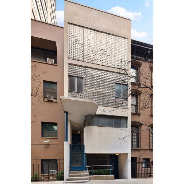1930s modernism: The William Lescaze House in Manhattan, New York, USA