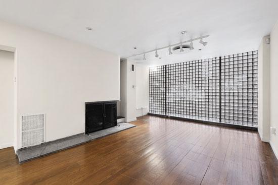 1930s modernism: The William Lescaze House in Manhattan, New York, USA