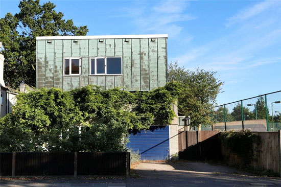 In need of renovation: 1960s David Rock and Robert Smart-designed modernist property in Wimbledon, London SW20