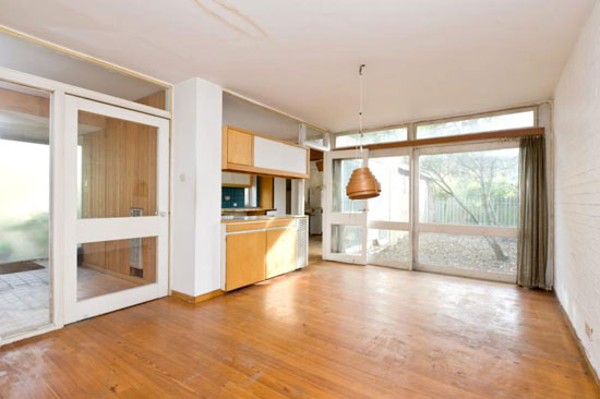 On the market: 1960s four bedroom architect-designed property in London SW19