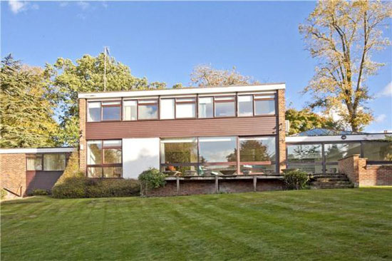 On the market: 1960s five-bedroom detached property in Wimbledon, London, SW19