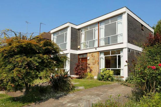 On the market: 1960s four-bedroom modernist property in Wimbledon, London SW20