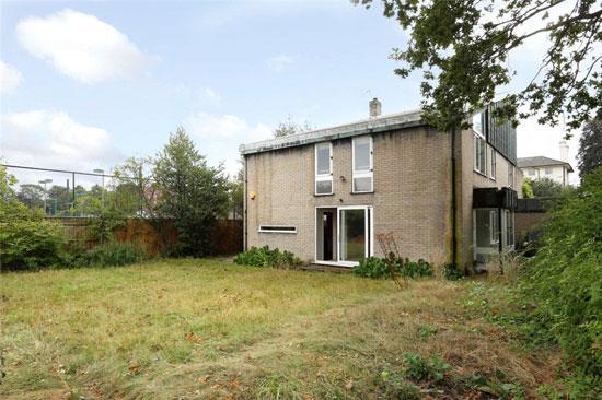1960s David Rock and Robert Smart-designed modernist property in Wimbledon, London SW20
