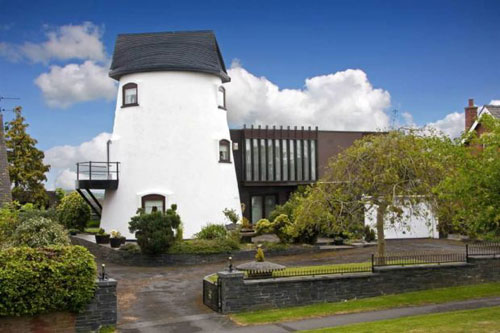 On the market: 1970s windmill house in Kirkham, near Blackpool, Lancashire