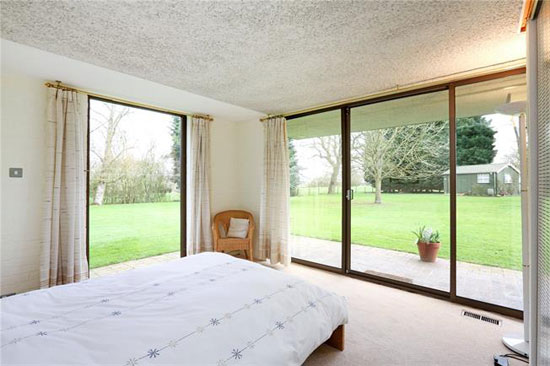 1970s modernism: Dominic Michaelis-designed property in Wotton Underwood, near Aylesbury, Buckinghamshire