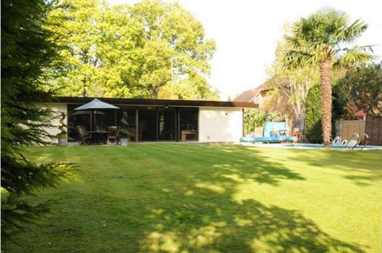 On the market: 1970s three-bedroomed detached house in Woodham, Surrey