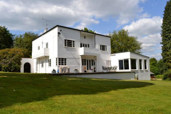 On the market: Edgmont six bedroom 1930s art deco house in Holmbury St Mary, Surrey