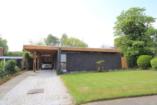 Midcentury in Liverpool: 1960s James Hunter-designed Man House in Woolton, Liverpool, Merseyside (price update)