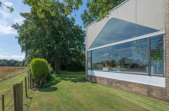 1960s Ryder and Yates modernist house in Woolsington, near Newcastle