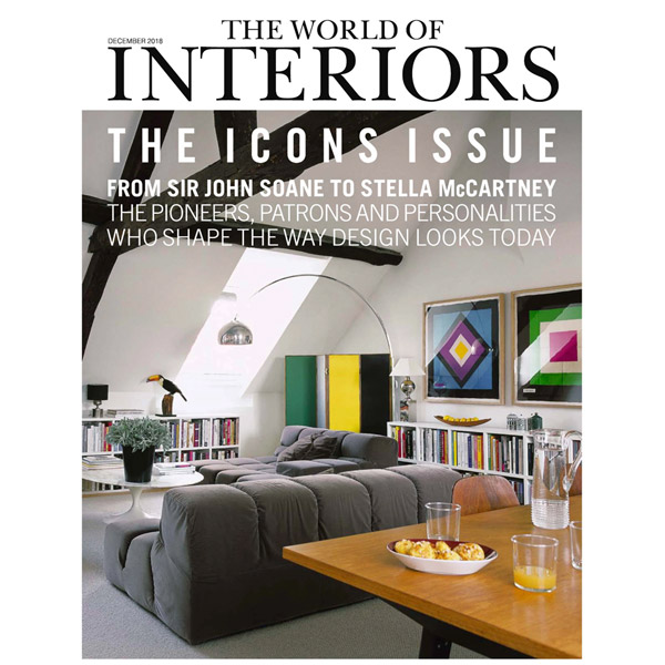 WowHaus feature in this month's World of Interiors magazine