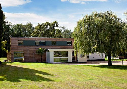 Eric Ambrose-designed Gateway House in Worplesdon, Guildford, Surrey