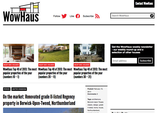 Would you like to sponsor the WowHaus site? An opportunity now available