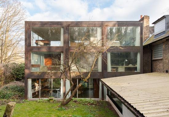 1960s John Winter-designed grade II-listed modernist property in London N6