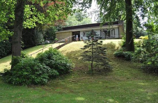 1950s architect-designed single-storey property in Heathfield, East Sussex