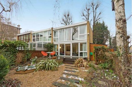 1960s Walter Segal-designed modernist property in Belsize Park, London NW3