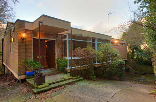 Five-bedroom 1970s modernist property in Macclesfield, Cheshire