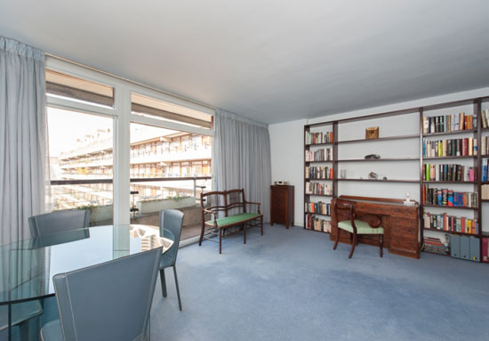 Two-bedroom apartment in Willoughby House, Barbican Estate London EC2