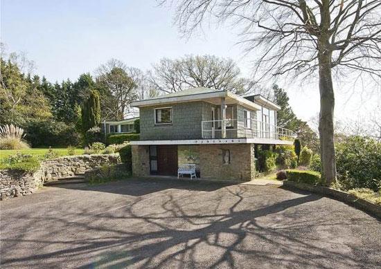 1960s midcentury property in St George's Hill, Weybridge, Surrey