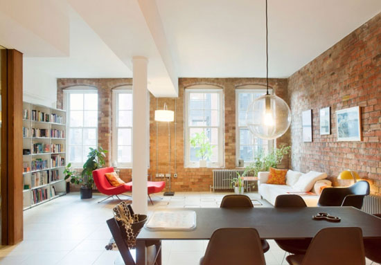 Two-bedroom apartment in The Jam Factory, London, SE1