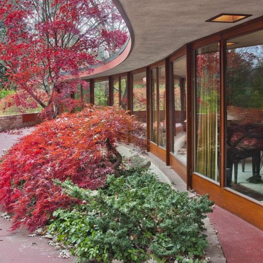 Frank Lloyd Wright's Kenneth Laurent House in Rockford, Illinois