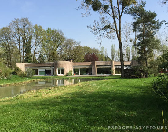 On the market: 1970s modernist property in Rambouillet, near Paris, France