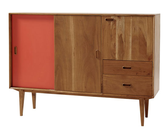1950s-style Yucca furniture range at Maisons Du Monde
