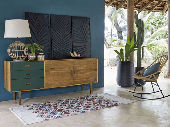 Yucca 1950s-style furniture collection at Maisons Du Monde