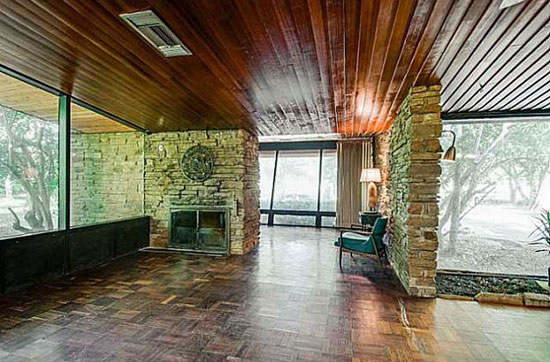 1940s midcentury property in Yukon, Oklahoma, USA