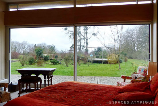 1970s modernist property in Rambouillet, near Paris, France