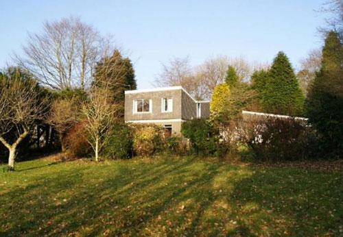1960s architect-designed six-bedroomed house in Yelverton, Devon