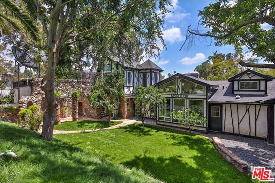 On the market: Frank Zappa's Zappa Estate in Los Angeles, California, USA