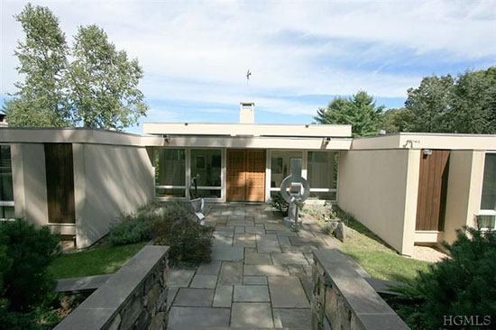 On the market: 1960s midcentury-modern property in Katonah, New York state, USA